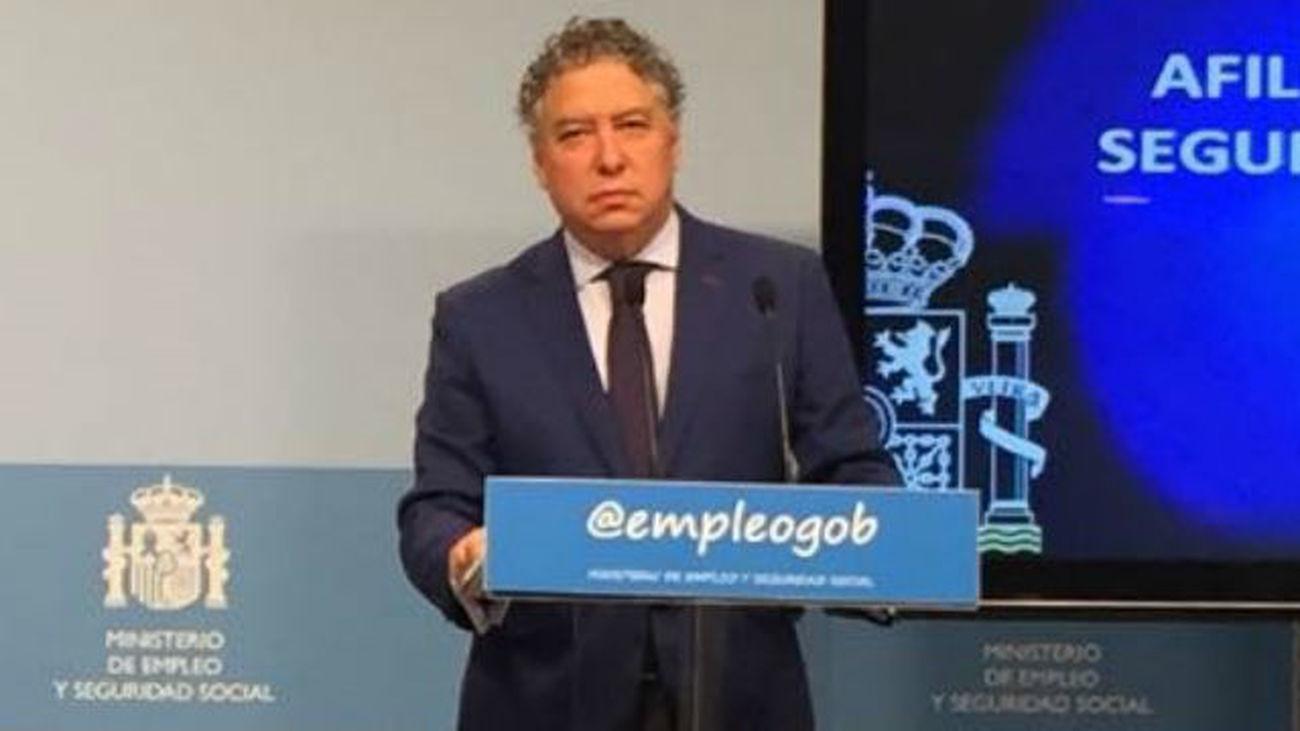 Burgos, secretario de Seguridad Social, destaca el crecimiento sólido y constante del empleo