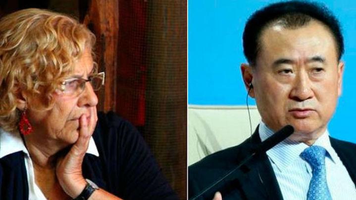 Carmena niega que haya dado a Wanda el permiso para tirar el Edificio España