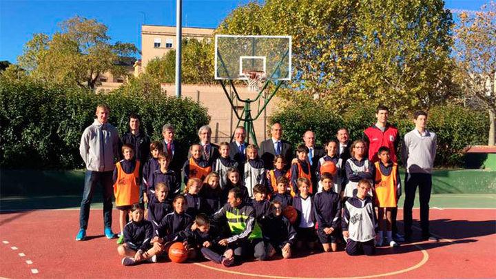 Combatir el acoso escolar impulsando la práctica del baloncesto