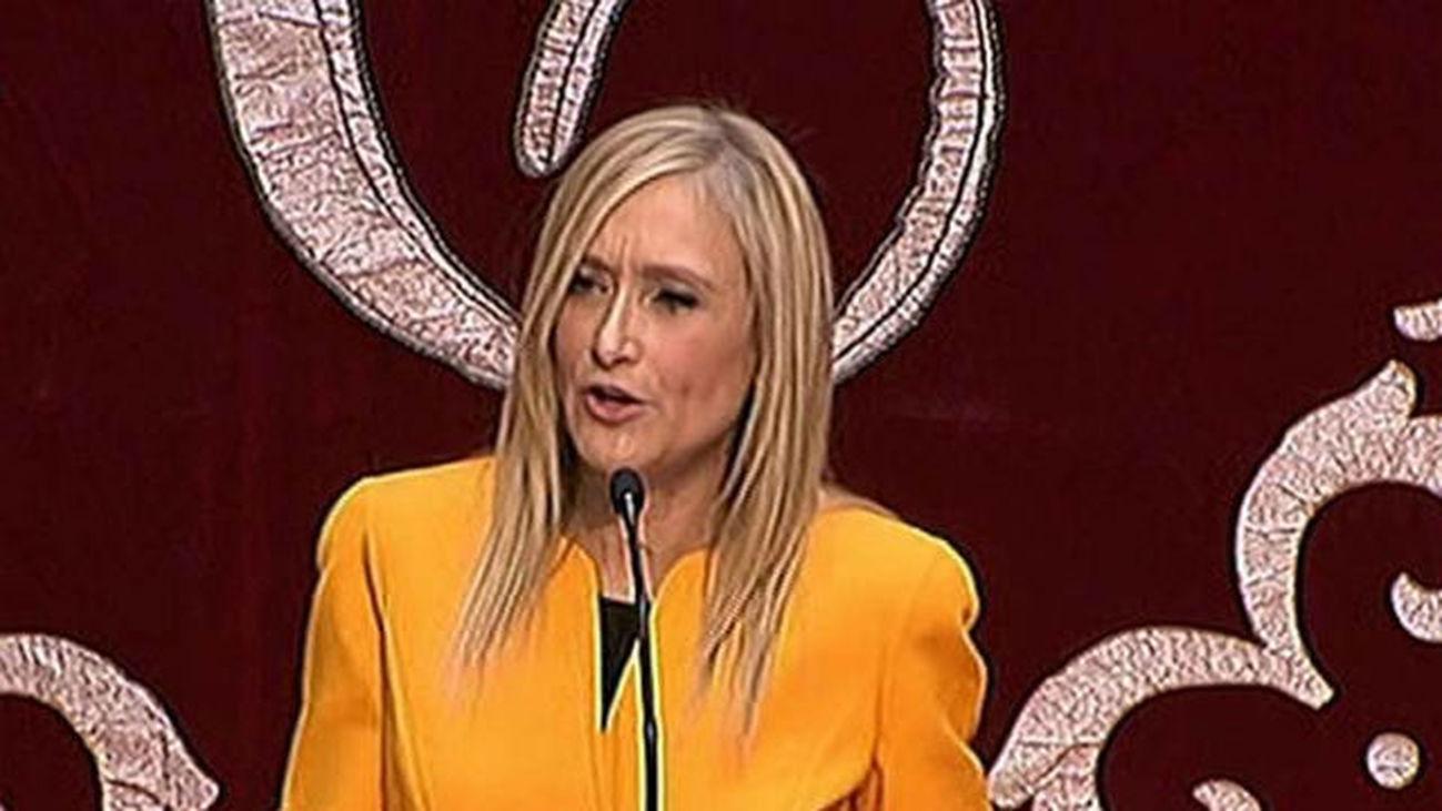 Cristina Cifuentes promete su cargo como Presidenta de la Comunidad de Madrid