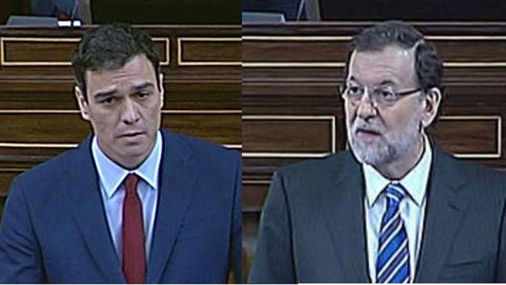 Debate de investidura: Duros reproches entre Sánchez y Rajoy. Intervención íntegra