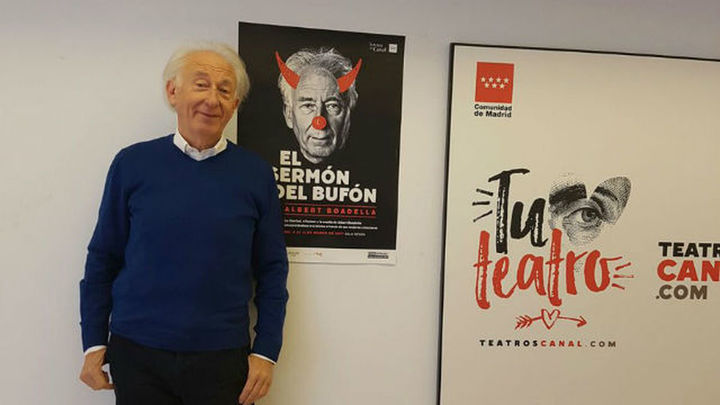 Entrevista a Albert Boadella, que estrena 'El sermón del bufón' en los Teatros del Canal