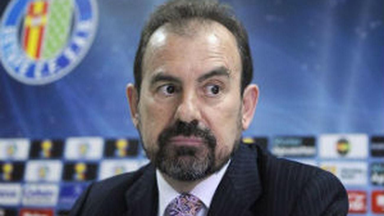 Entrevista a Ángel Torres, presidente del Getafe CF