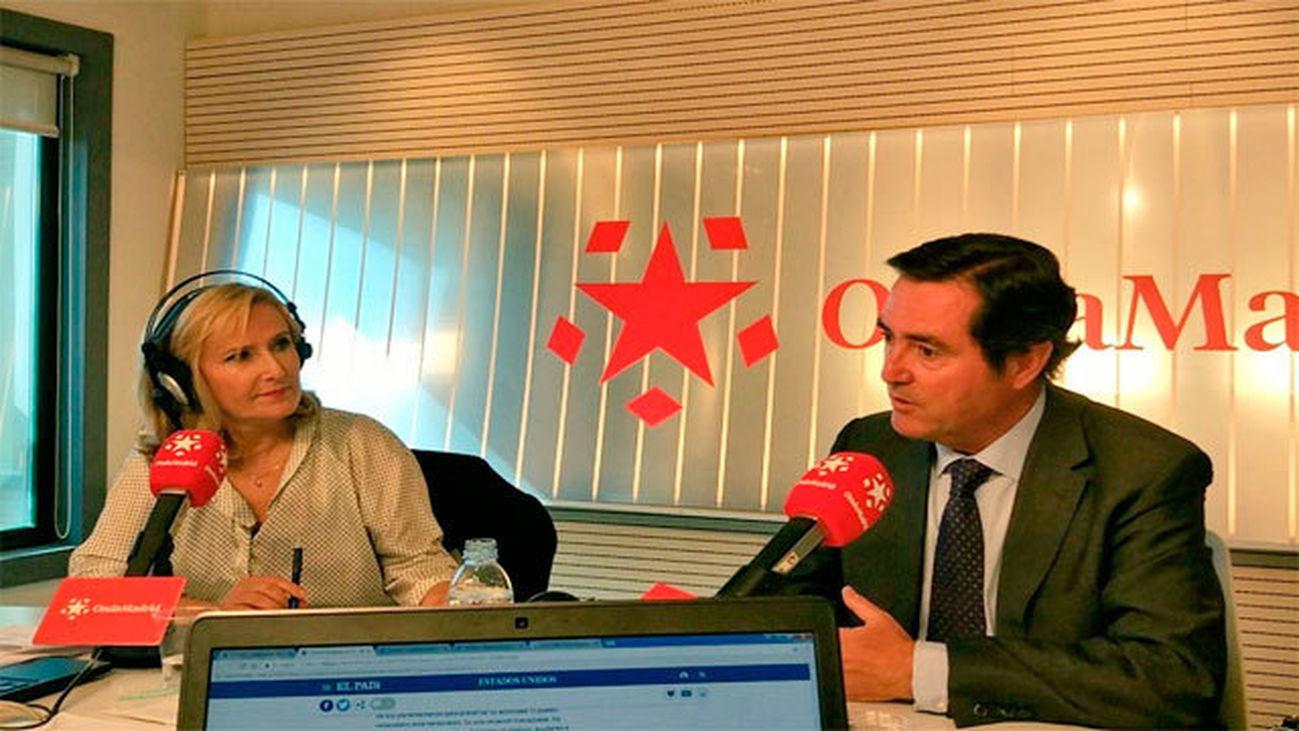 Entrevista a Antonio Garamendi, presidente de Cepyme