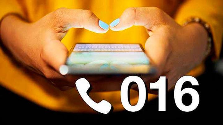 El 016 supera el millón de llamadas desde su puesta en funcionamiento