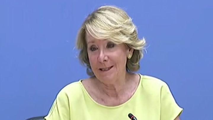 Entrevista a Esperanza Aguirre, portavoz PP en el Ayuntamiento de Madrid