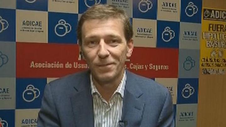 Fernando Herrero, de ADICAE, cree que el sistema de hipotecas está anclado en el siglo XIX