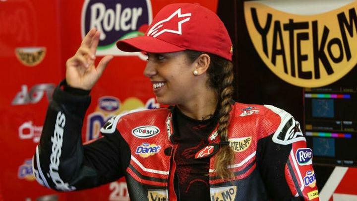 Entrevista a María Herrera, piloto de Moto3