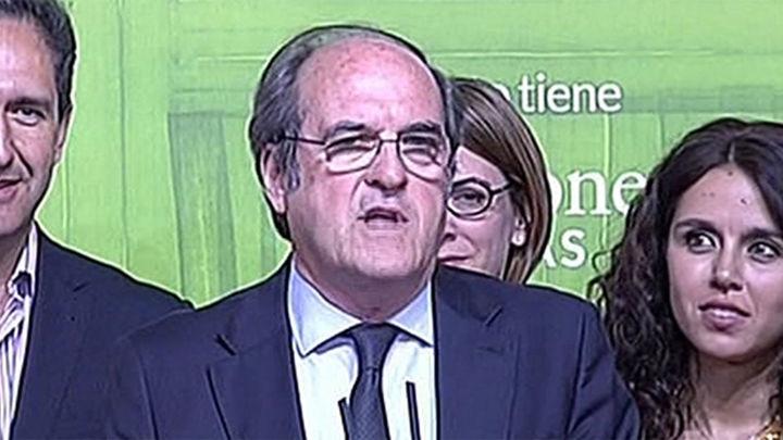 Gabilondo dice que le corresponde a Cifuentes buscar una mayoría de gobierno