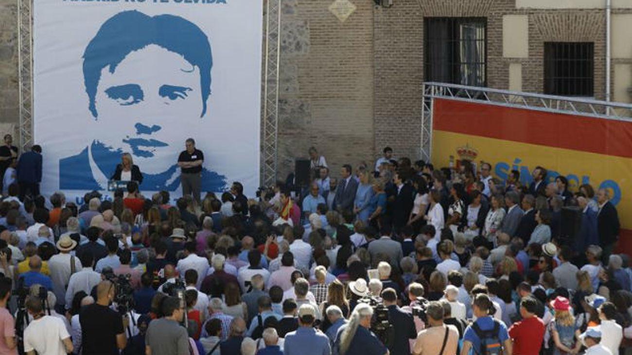 Homenaje a Miguel Ángel Blanco en el 20º aniversario de su asesinato por ETA