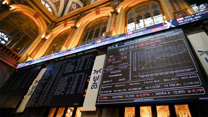 El Ibex aguanta los 10.100 y cierra con una caída del 0,48%