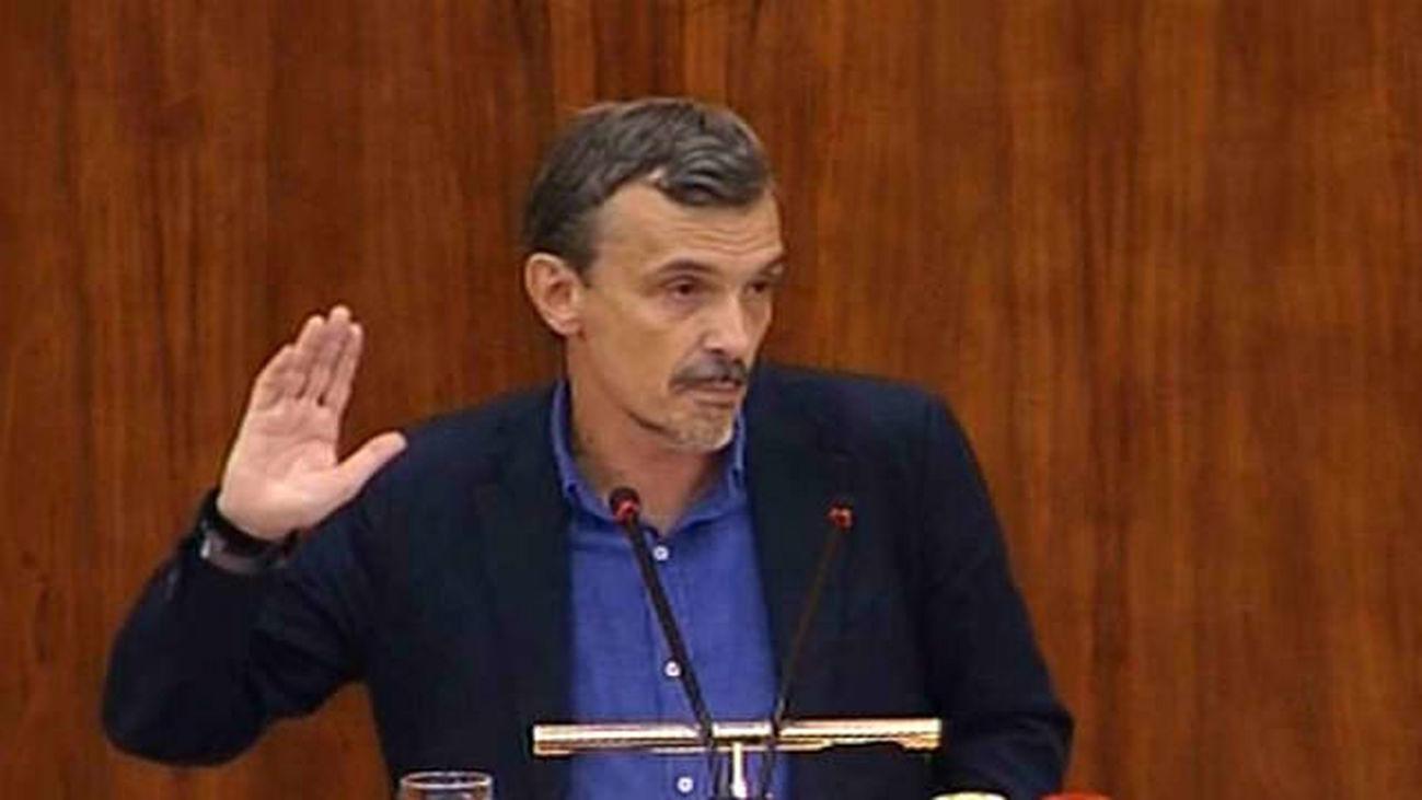 José Manuel López, ptvoz Podemos en la Asamblea valora las elecciones del día de ayer