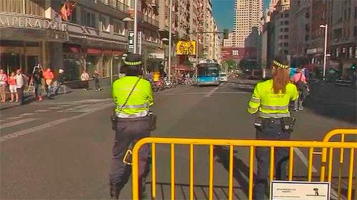Lunes de balance tras el primer fin de semana con el centro de Madrid cerrado al tráfico