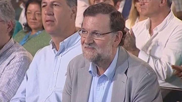 Mariano Rajoy critica los pactos en Cataluña de cara al 27 S