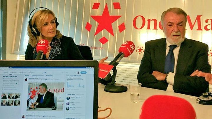 """Mayor Oreja: """"Antes que los catalanes, tendremos que hablar los españoles"""""""