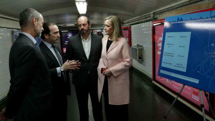 Metro eliminará en 2018 los billetes de papel e invertirá 60,6 millones para modernizar 23 estaciones