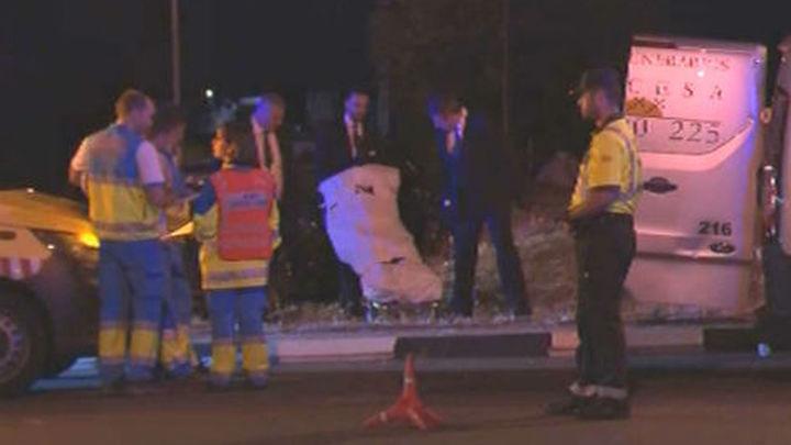 Mueren dos personas y tres resultan heridas en un accidente de tráfico en San Sebastián de los Reyes
