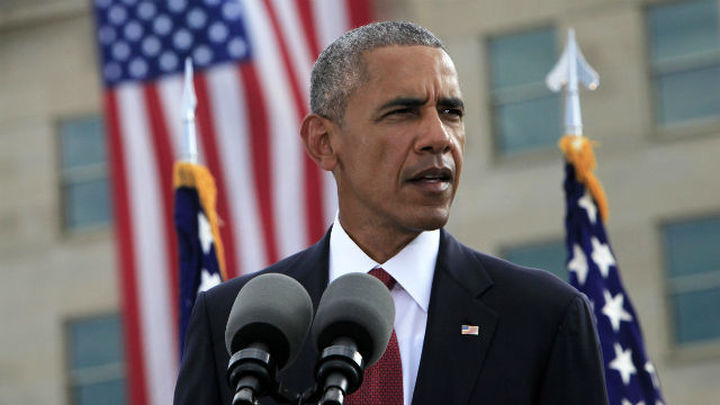 """Obama afirma que EEUU """"nunca olvidará"""" cuando se cumplen quince años del 11-S"""