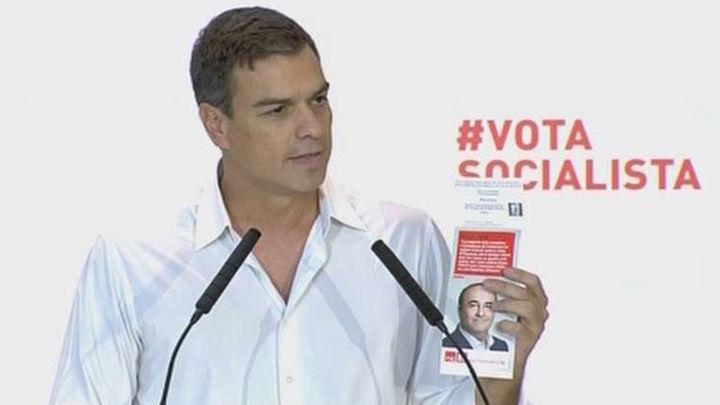 Pedro Sánchez acusa de fraude a Artur Mas por esconder su mala gestión con su desafio separatista