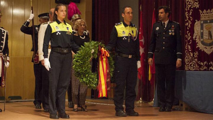 La Policía Municipal de Madrid celebra la festividad de San Juan Bautista, patrón del Cuerpo