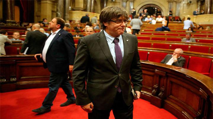 Puigdemont llama a los catalanes a acudir a las urnas el 1-O y votar para decidir su futuro