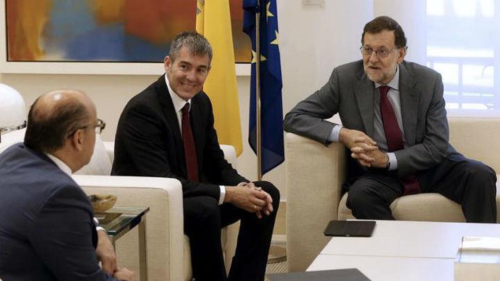 Rajoy transmite en sus reuniones previas a la formación de gobierno que la soberanía nacional es innegociable