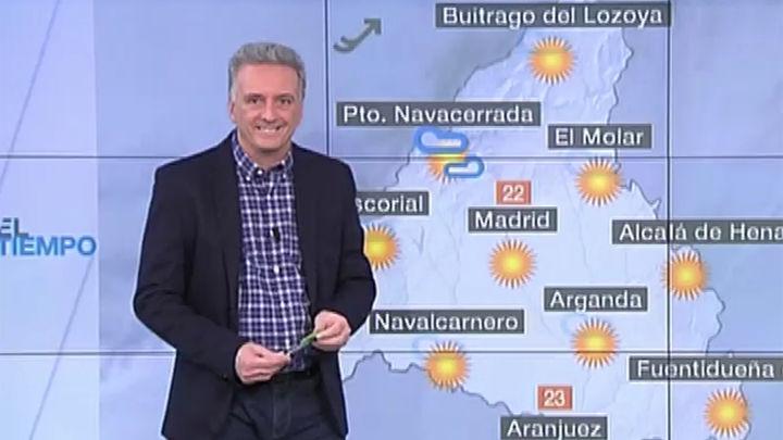 Suben las máximas en Madrid