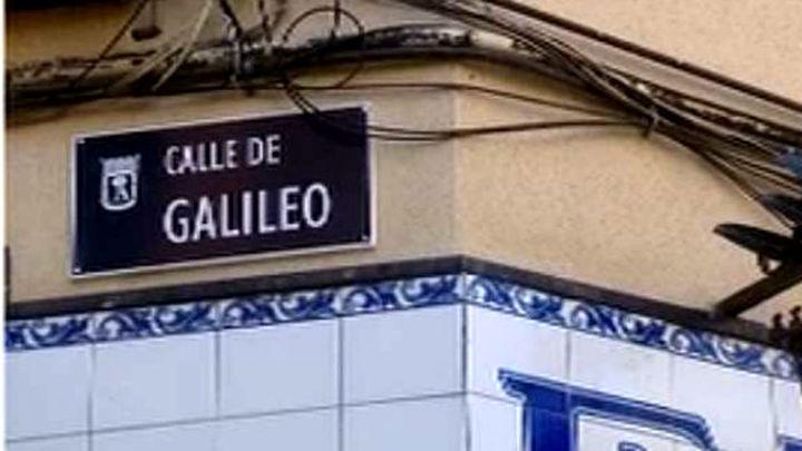 Cambios en las obras de la calle Galileo de Madrid