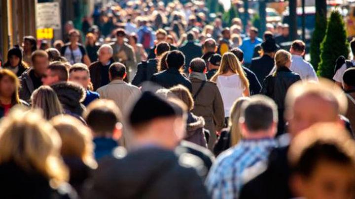 La población crece en la Comunidad de Madrid hasta los 6.578.079 habitantes
