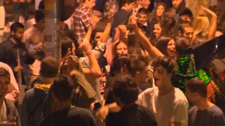Más de 23.800 denuncias por 'botellón' en Madrid en lo que llevamos de 2016