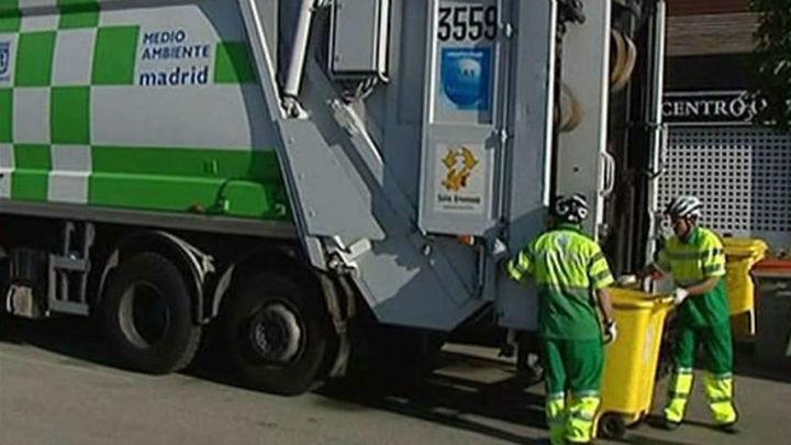 Habrá huelga en Madrid de recogida de basuras el 11 de mayo si no se garantiza el empleo