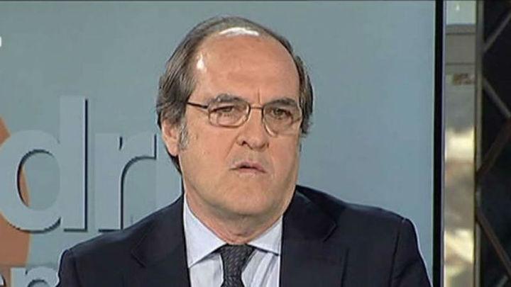 El candidato socialista a la Comunidad de Madrid Ángel Gabilondo promete una campaña limpia
