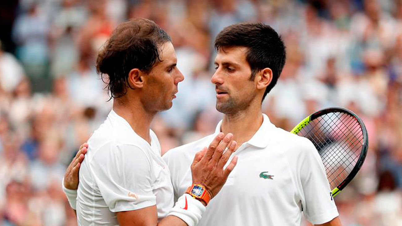 Nadal sucumbe ante Djokovic y se queda sin final de Wimbledon