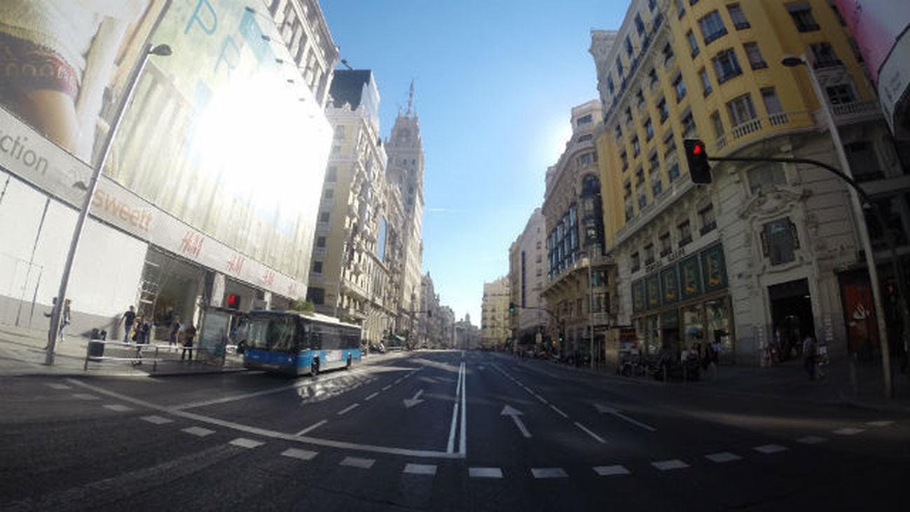 """Aguirre censura el corte al tráfico en Gran Vía porque """"con prohibiciones no vamos a ningún lado"""""""