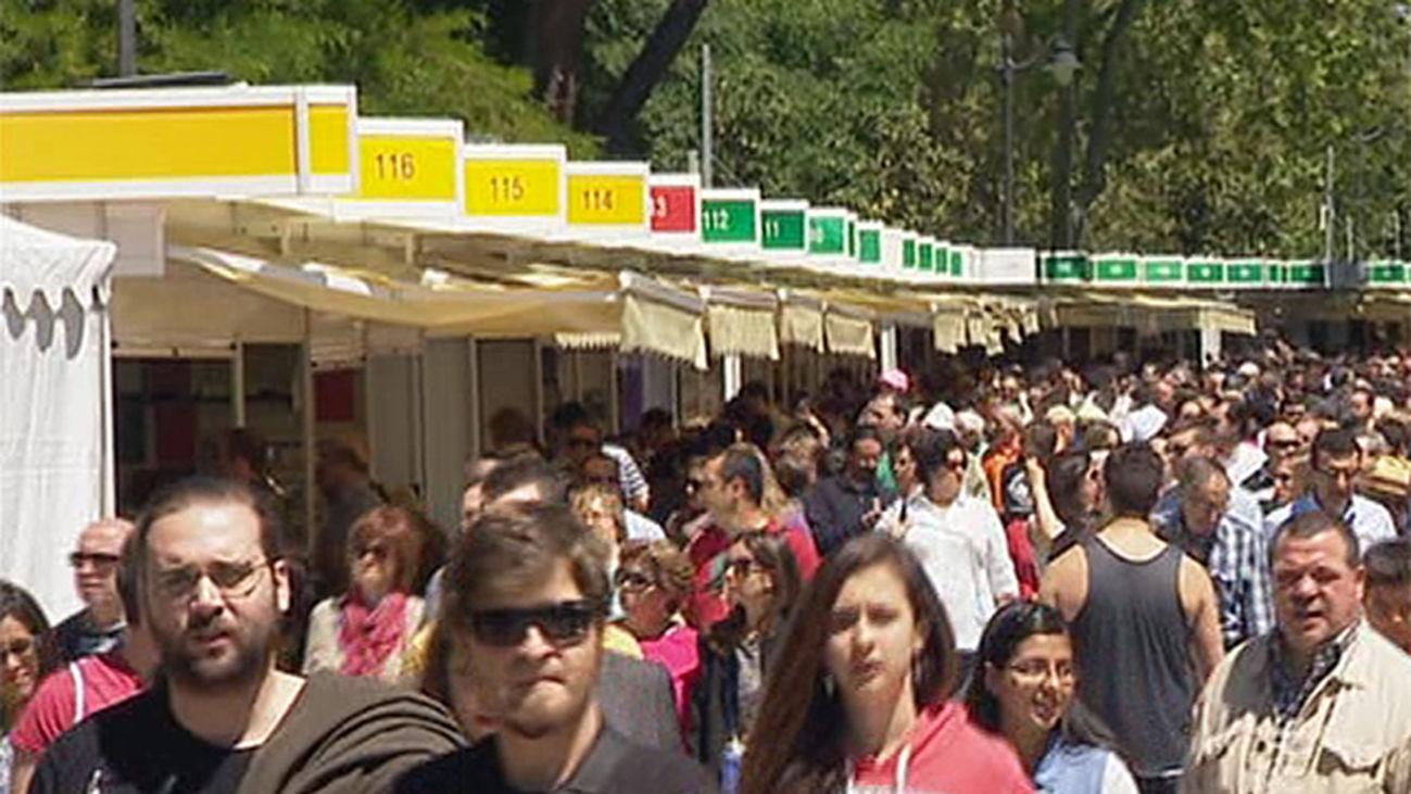 La Feria del Libro de Madrid, que se celebra hasta el 15 de junio, cuenta con 364 casetas y 508 expositores