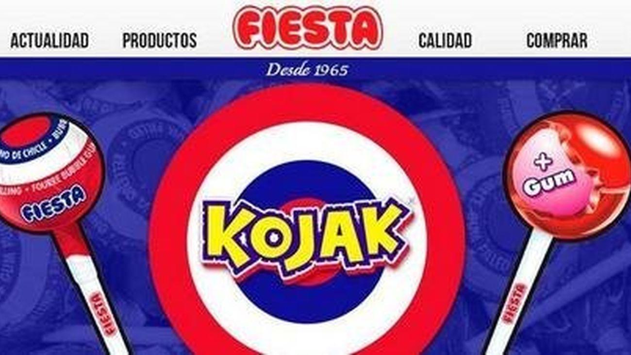 Inquietud en Alcalá entre los trabajadores de Fiesta, fabricante de caramelos Kojak, por la venta de la empresa