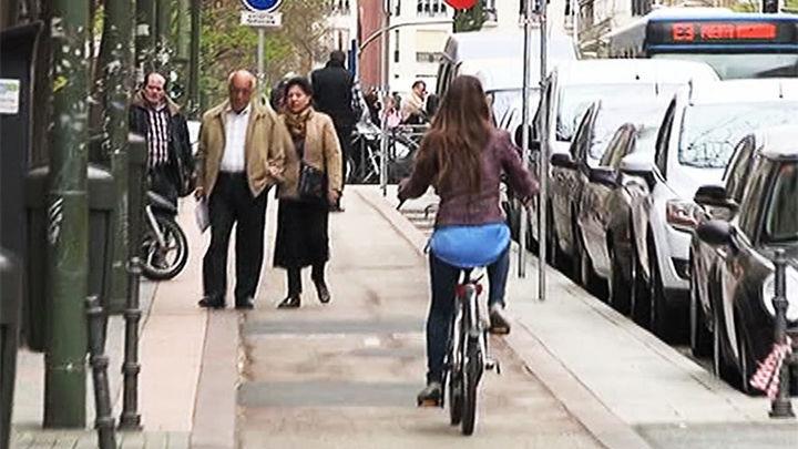 No habrá carriles bici temporales en Madrid...de momento