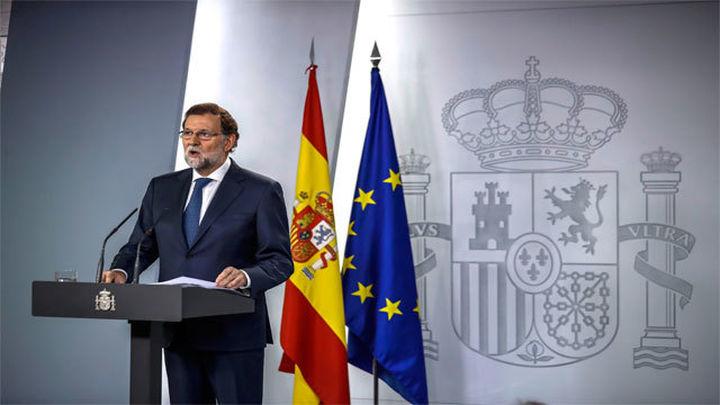 """Mariano Rajoy comparece tras la reunión del Consejo de Ministros y asegura que se defenderá el """"imperio de la ley"""""""