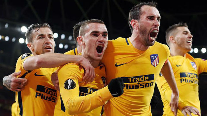 Narración del gol de Griezmann ante el Arsenal (1-1)