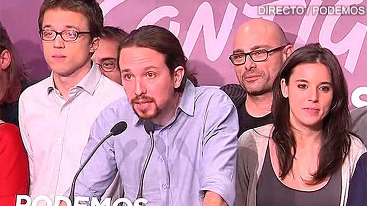 """Pablo Iglesias: """"España termina con el turnismo. Estamos ante una nueva transición"""""""