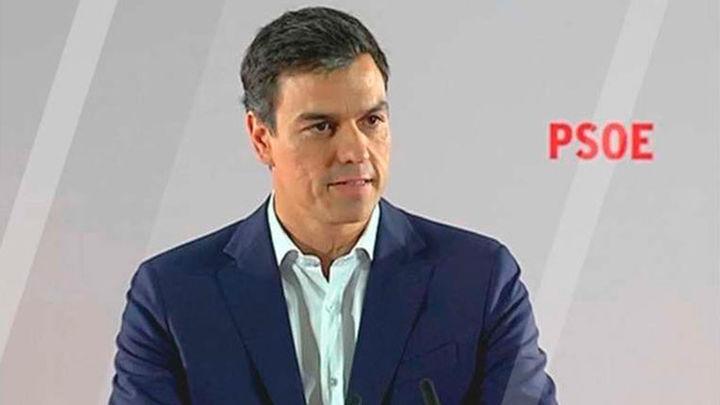 Pedro Sánchez advierte de que quien vote 'no' a su investidura estará votando 'sí' a la continuidad de Rajoy