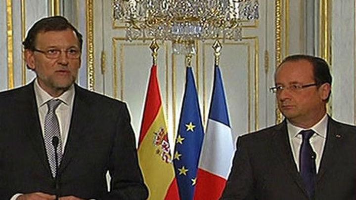 Rajoy ofrece a Francia compromiso leal y colaboración frente a terroristas