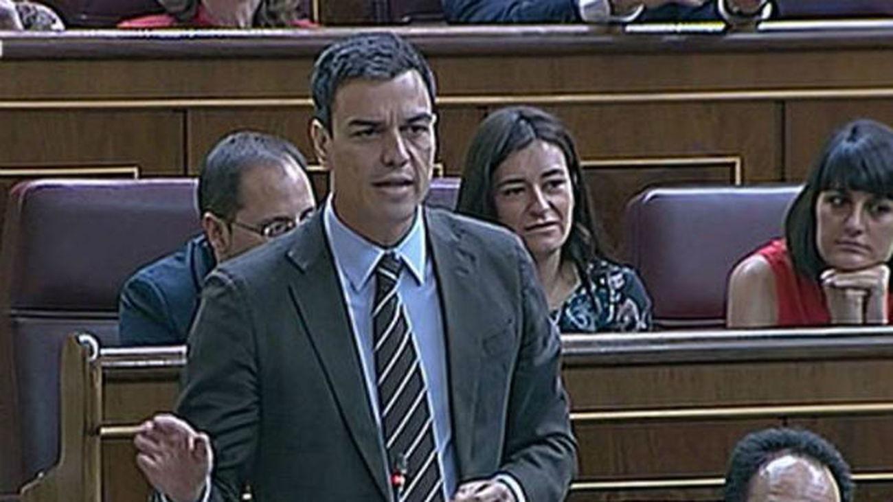 """Sánchez reprocha a Rajoy haber demostrado que """"miente más que habla"""""""