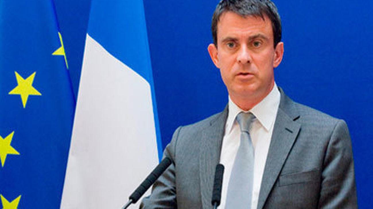 """Valls: """"Francia no cederá ante el terrorismo y no se dejará desestabilizar"""""""