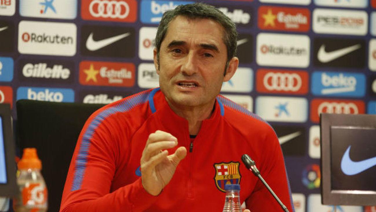 Valverde 'se moja' sobre la pitada al himno y la equipación del Barça en la final de Copa