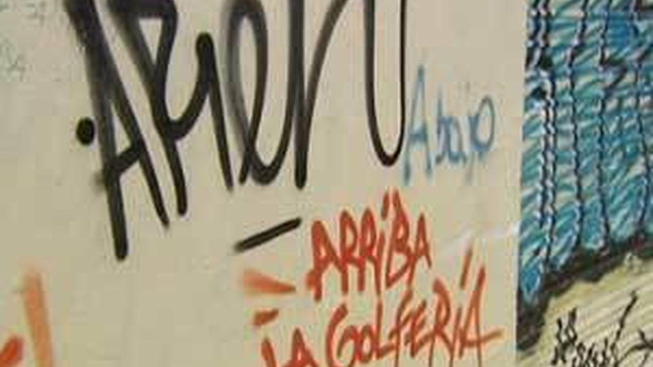 La brigada antipintadas de Majadahonda elimina más de 2.000 grafitis en lo que va de año