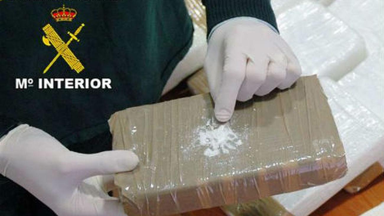 Se rompe la tendencia a la baja en la incautación de cocaína, que sube 28,6%