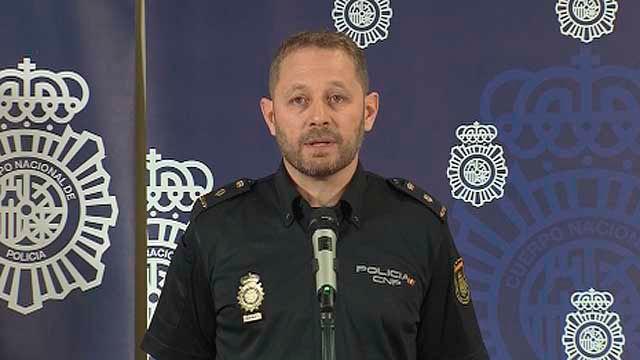 El inspector jefe del Grupo V de  Homicidios de la Policía Nacional, Enrique Reales