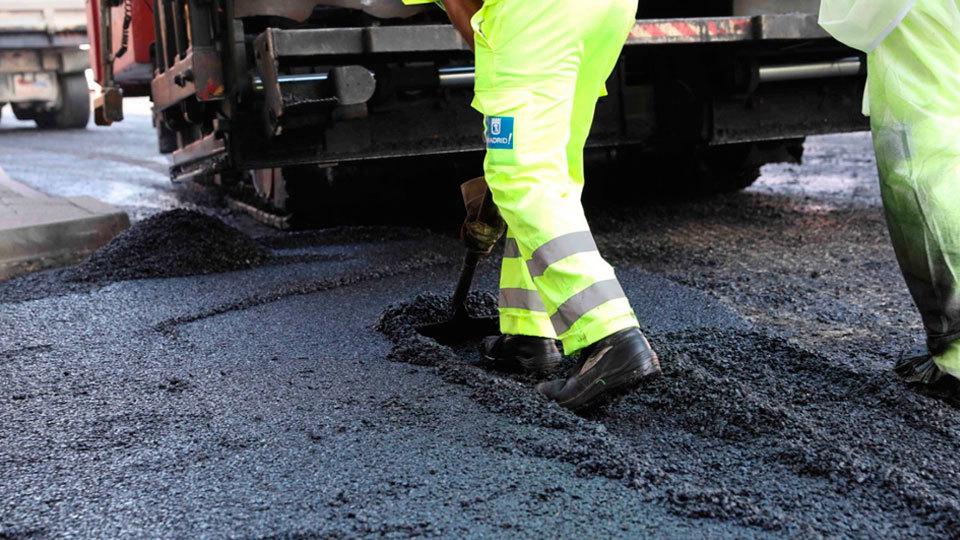 Última fase de la operación asfalto