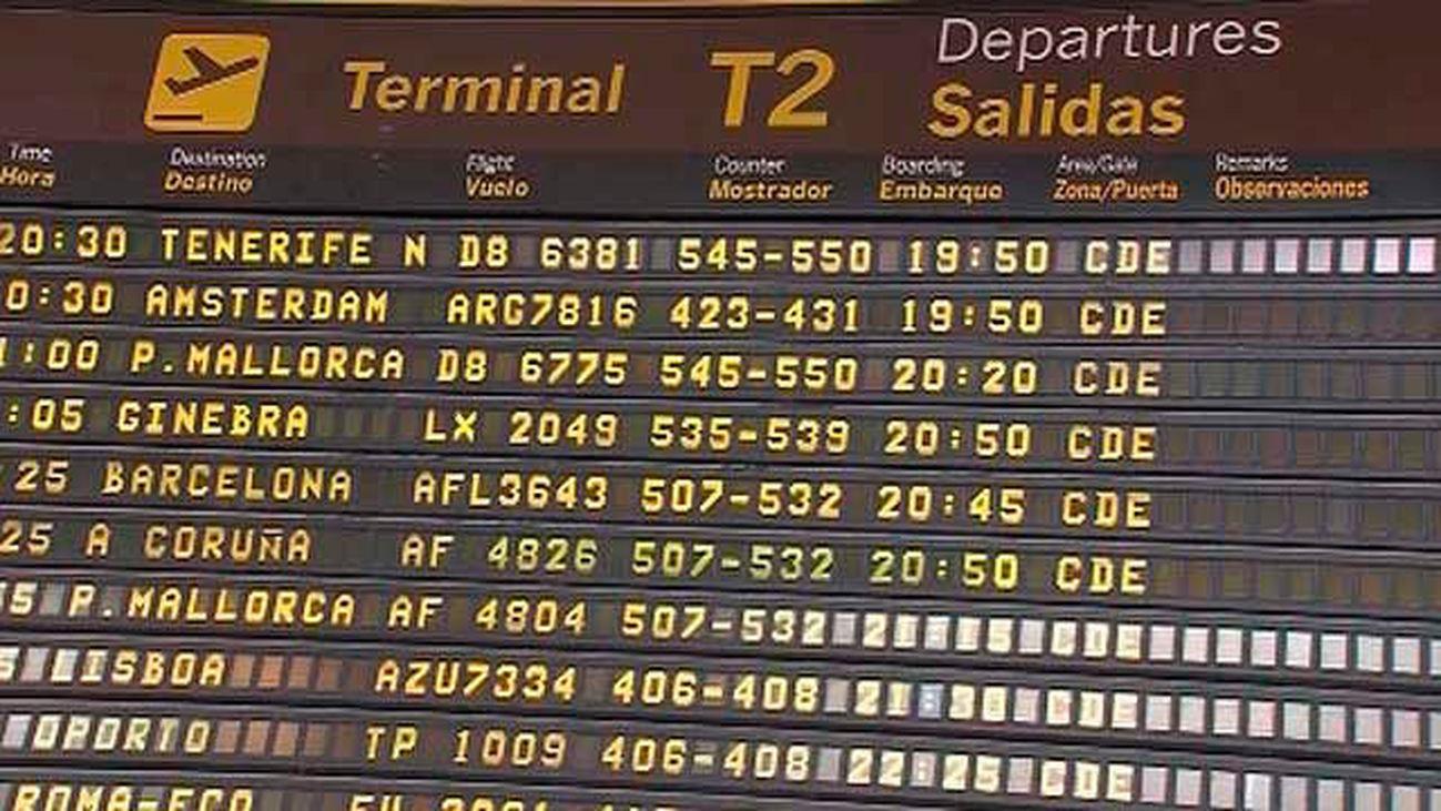 Amenazas de huelgas en los aeropuertos a partir de la próxima semana